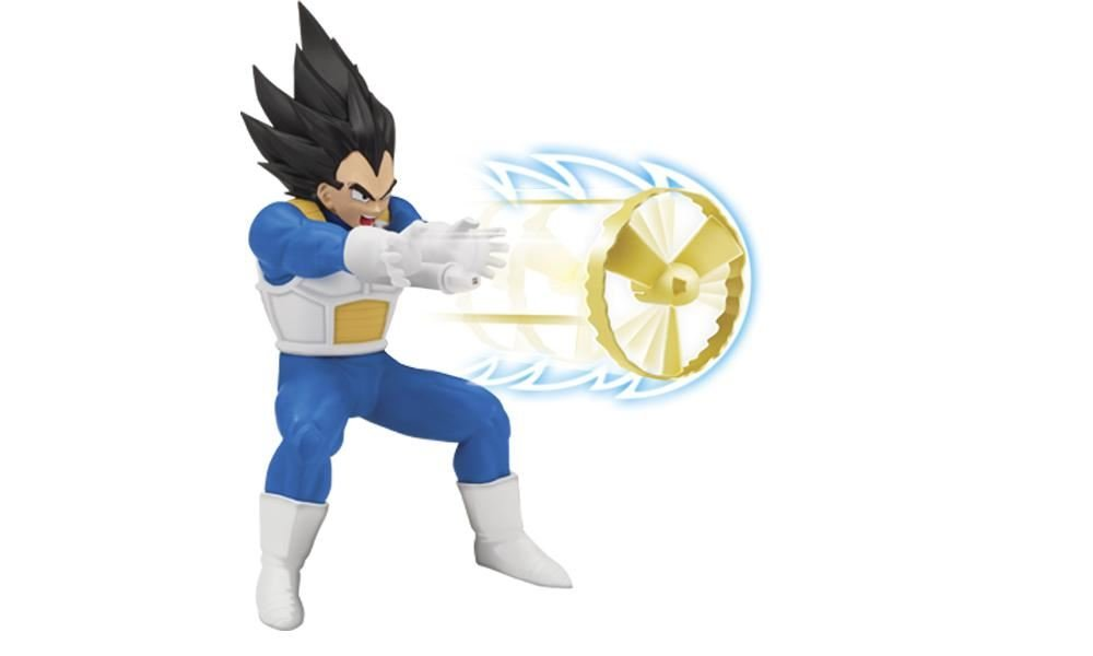 Dragon Ball Z Super Vegeta Action Figure Kamehameha Toy Bandai Toy