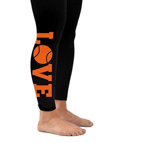 Love Leggings | Tennis Leggings by ChalkTalk SPORTS | Adu...