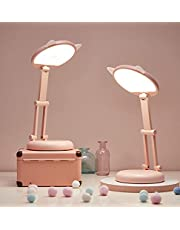 Modern Desk Lamp Home Office Desk Light Folding and Convenient USB Charging Night Lamp Suitable for Adults Teens Students Children Boys Girls Study Room Learning Reading Lamps Bedside Lamps