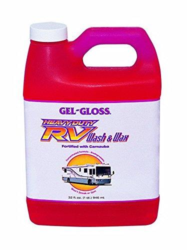 (TR Industry/ Gel Gloss WW-32 RV Trailer Camper Cleaners Heavy Duty Rv Wash & Wax 32 Oz.)