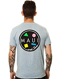 Maui and Sons Mens Cookie Logo Tee