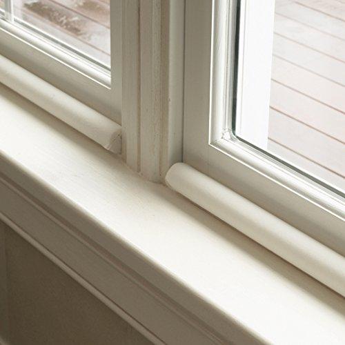 Twin Draft Guard's Window Guard Double Sided Draft Blocker Insulation Kit (Double Sided Door Draft Stopper)