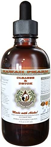 Cleanse & Detox, VETERINARY Natural Alcohol-FREE Liquid Extract, Pet Herbal Supplement 4 oz