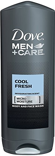 Body Wash Cool - Dove Men Care, Body & Face Wash, Cool Fresh, Pack of 3, (13.52 Fl. Oz/400 ml Each)