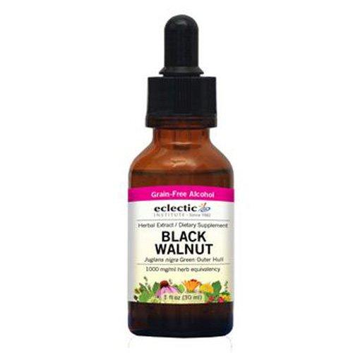 Black Walnut Extract - Eclectic Institute - 1 oz - Liquid Eclectic Institute Black Walnut