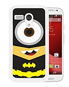 Batman Minion White Motorola Moto G Screen Phone Case Attractive and Fashion Design
