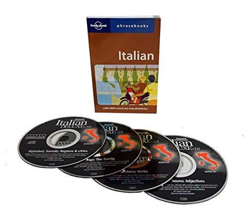 Language Alphabet Italian (Learn to Speak Italian Language (4 Audio CD Set w/Phrasebook) Listen in Your car)
