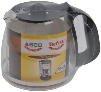 Seb CL410801 - Jarra (15 tazas) para cafetera Express, color negro: Amazon.es: Hogar