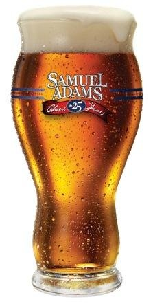 Samuel Adams 25th Anniversary Celebration Perfect Pint Glass | Set of 2 Glasses