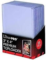 Ultra Pro 3 x 4 Premium Topload Card Holders, 25