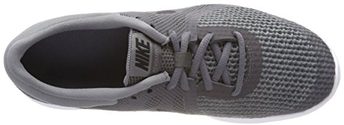 Nike Jungen Revolution 4 (GS) Laufschuhe Grau (Dark Grey/black Cool Grey White 005)