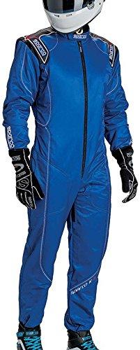 スパルコ レーシングスーツ SPARCO K-3 サイズ:150 ブルー 002329AZ150 B01GFTUBBW