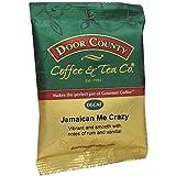Door County Coffee, Jamaican Me Crazy Decaf, Ground, 1.5oz Full-Pot Bag