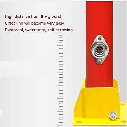 Barreras de aparcamiento ZBM ZBM Bloqueo De Estacionamiento Pila Pila De Estacionamiento Autom/ático De Estacionamiento Lugar Del Accidente U-bloqueado Aparcamiento Al Aire Libre noray