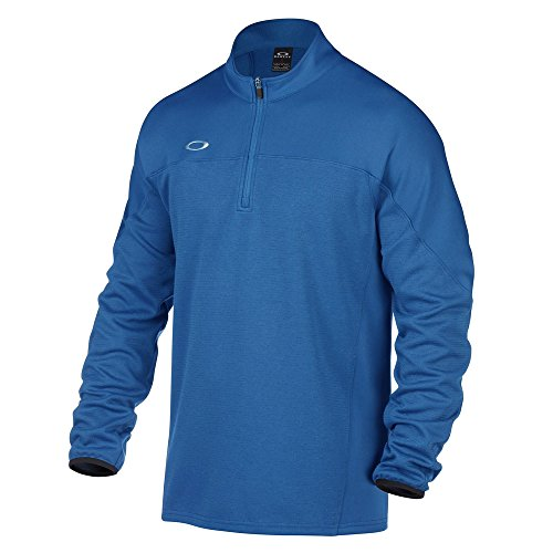 Oakley Men's Gridlock Pullover, Ozone, - Mens Clothing Oakley
