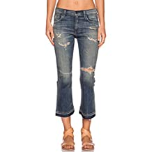 Citizens of Humanity Women's Drew Crop Flare Rip It Up Jeans