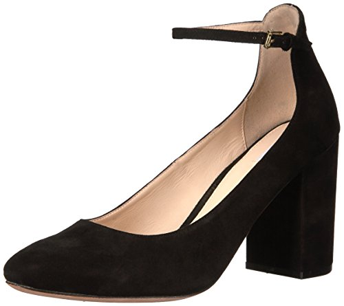 Cole Haan Women's Larue Grand Pump 85MM, Black Suede, 10 B US