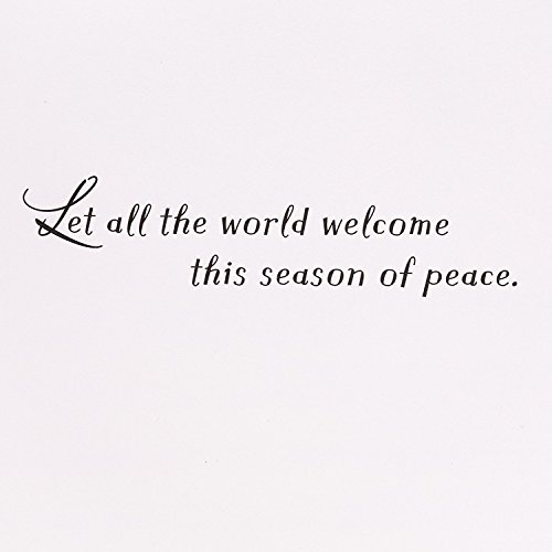 Hallmark UNICEF Christmas Boxed Cards (Peace On Earth Dove Lettering, 12 Christmas Greeting Cards and 13 Envelopes) Photo #5
