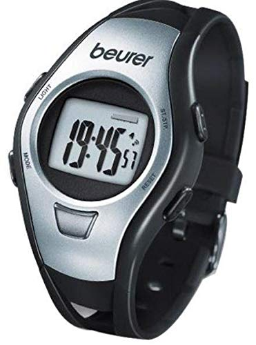 Beurer PM 15 Male Heart Rate Monitor Watch Black, Made in Germany