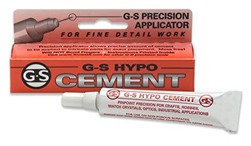 Crystal Cement (G&S Hypo Watch Crystal Cement)