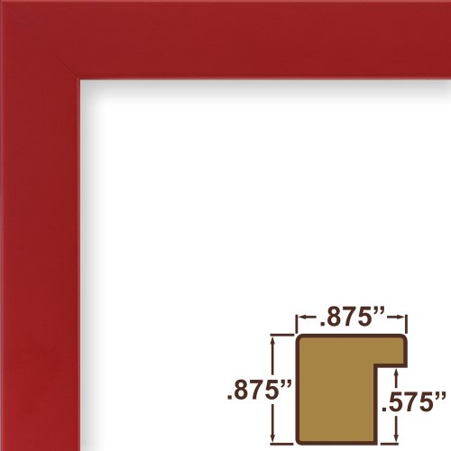 Craig Frames 140635 11 by 14-Inch Picture Frame, Solid Wood,
