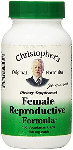 Dr. Christopher s Formula Female Reproductive Formula, 100 Count Pack of 2