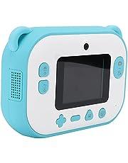 Fournyaa Instant Print Camera, Stabiele Duidelijke Foto's Kleine Draagbare Kids Camera Prints Foto's voor Buiten (blauw)