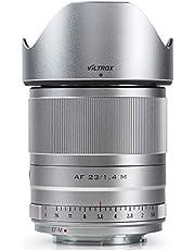 VILTROX 23mm F1.4 EF-M Mount STM Autofocus Lens, Large Aperture APS-C Lens Compatible with Canon EOS-M Mount M10 M100 M3 M5 M50 M6 M60 II