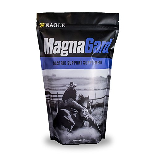 Eagle Equine Products MagnaGard Gastric Support Supplement for Horses with Ulcers or Digestive Issues, 4 lbs
