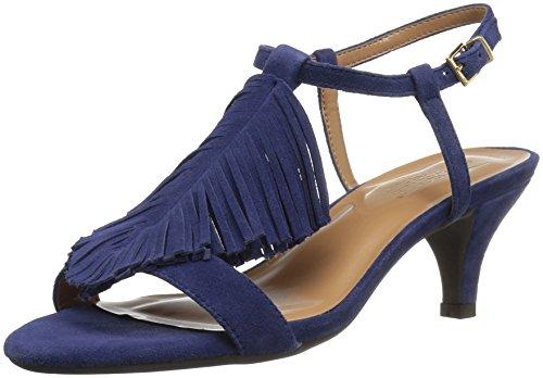 Dress Aerosoles Charade Womens Suede Blue Sandal Charade Blue Womens Aerosoles Dress Sandal CqSg8xwg