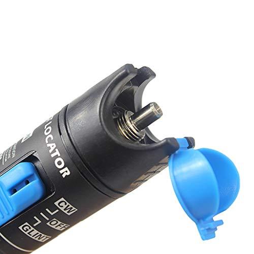 SM SunniMix AUA-9-70dBm~+10dBm 850~1625nm Optical Power Meter Tester FC SC Handheld Optical Power Meter + with 1mW Visual Fault Locator Pen Tools by SM SunniMix (Image #2)