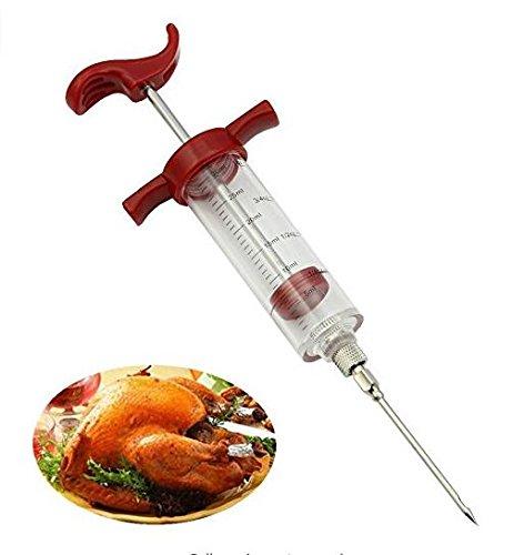 Ruiting Braten von Fleisch und Geflügel mit Spritze Flavor HeroNeo Marinadenspritze Hähnchen Größl ZN Türkiye Türkei Haushaltsgegenstände