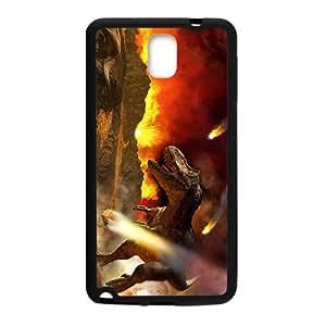 Fire Creative Dinosaur Custom Protective Hard Phone Cae For Samsung Galaxy Note3