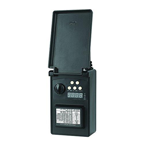 Maximus PW1P-A4512-BK-1 Low Voltage 45-Watt Black Digital - 12v Manual Transformer