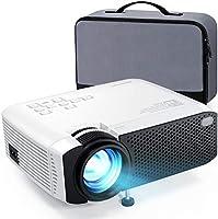Beamer APEMAN Mini Beamer 1080P Full HD Video Projiziert mit Tasche Geräuscharm Projektor LED 50000 Stunden Heimkino...