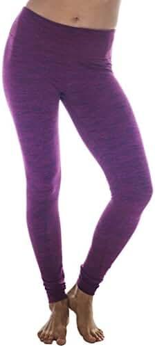 90 Degree by Reflex Soft, Warm, Activewear Yoga Pant Legging - Brushed Fabric