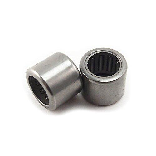 Generic Hk081210Hk08108x 12x 10mm Roulement à rouleaux d'aiguilles en métal (lot de 10)