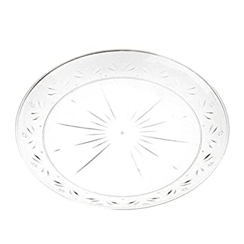 Simcha Collection 10 inch Clear Plastic Plates/Case of 120  sc 1 st  Amazon.com & Amazon.com: Simcha Collection 10 inch Clear Plastic Plates/Case of ...