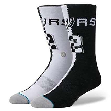 Stance Kawhi Leonard San Antonio Spurs Split Jersey NBA Socken M545A18LEO