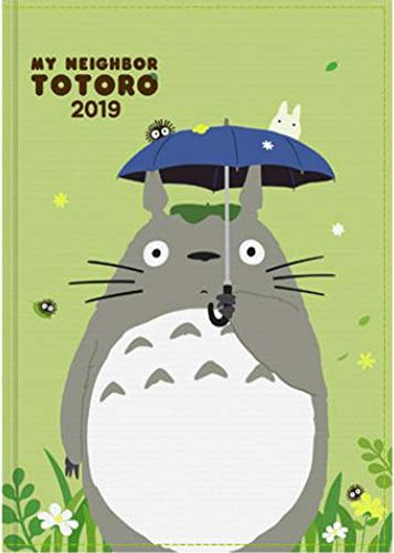 2019 Ghibli Studio Animation [My My Neighbor Totoro] Diary Journal Weekly Planner Scheduler Datebook Notebook (5.0 x 7.3 inches). A Post Card included