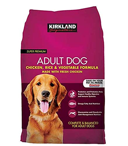 Kirkland Signature Dog Food Variety (Chicken, Rice and Vegetable Dog Food 40 lb.)