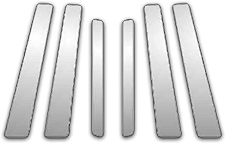 Upgrade Your Auto 6Pc Chrome Pillar Post Covers for 09-13 KIA Soul