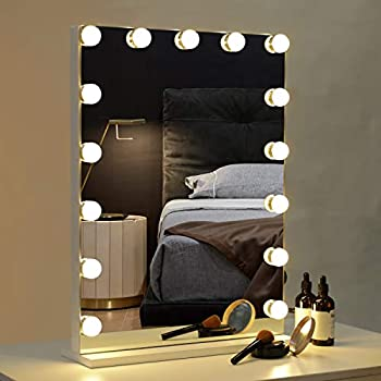 Amazon Com Wayking Makeup Mirror With Lights Hollywood