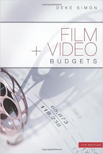 Film + Video Budgets 5th Edition: Deke Simon: 9781932907735: Amazon