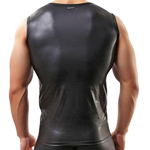 Sleeveless Leather Shirt - Sheep Nappa - Custom Made To Order. Sleeveless Leather Shirt With Two Front Pocket. The leather is soft and premium quality. This is a brand new Leather tem and selling fast. Most of our items can however be made in different colours and sizes.