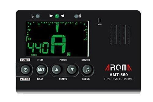 Aroma AMT-560 3IN1 Tuner/Metronome for - Quartz Tuner Guitar