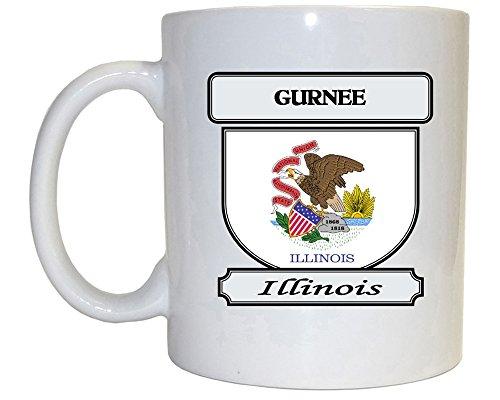 Gurnee, Illinois (IL) City Mug (City Of Gurnee Il)