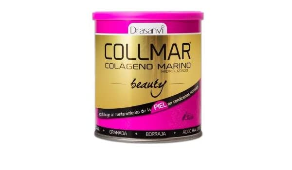 DRASANVI Colágeno marino Collmar Beauty, 275 g Sabro frutos del bosque: Amazon.es: Hogar
