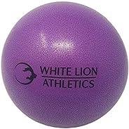 ✅ White Lion Athletics Pilates Mini Stability Ball 8 inches (Purple)   Mini Anti-Burst Stability Ball for Pila