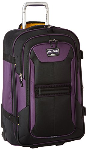 Travelpro Bold 25' Expandable Rollaboard Checked Luggage, Purple/Black